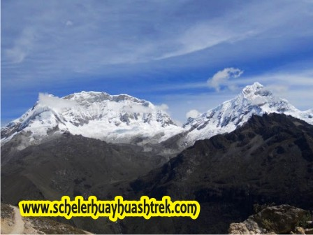 Nevados Huascarán Sur y Chopicalqui